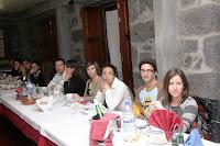 Café Portugal - PASSEIO DE JORNALISTAS nos Açores - São Jorge - jantar na Escola Profissional