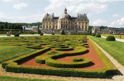 La arquitectura barroca francesa ense arte for Jardines barrocos