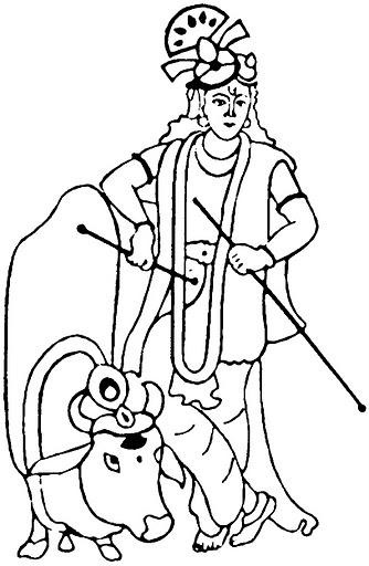 clipart of lord krishna - photo #29