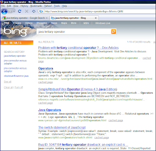Inspired by Actual Events: Bing and Google: Searching for ...
