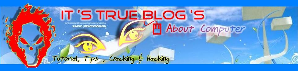 Tutorial, Tips, Trick Cracking & Hacking Computer