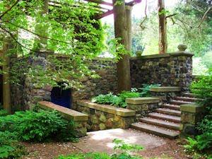 Cranbrook House Sunken Gardens