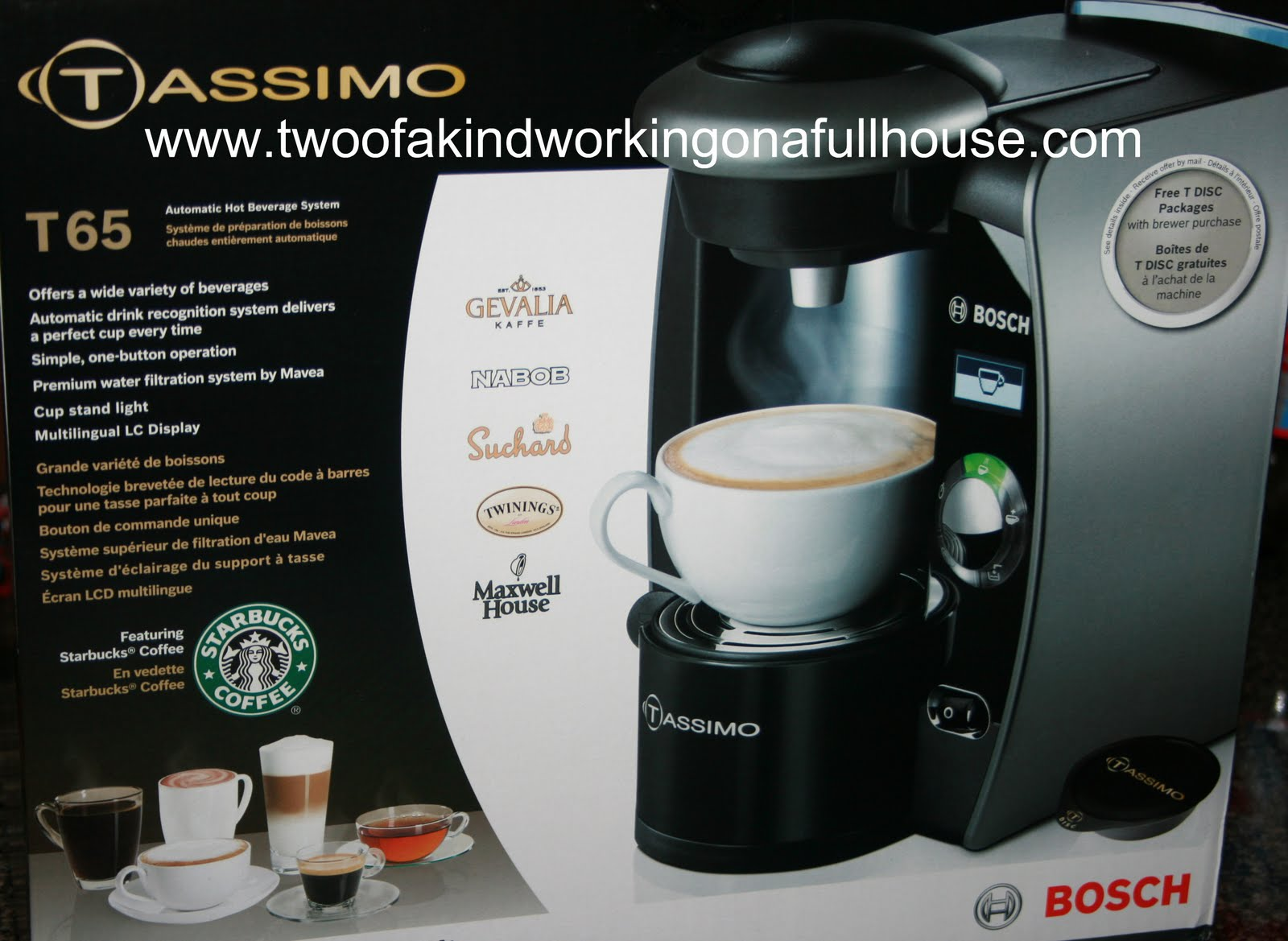 Electronic Tassimo T65 Coffee Machine tassimo lcd premium t65 home brewing system by bosch review and another one of my favorite things about the is that it has a mavea water filtration ensures only pure wa