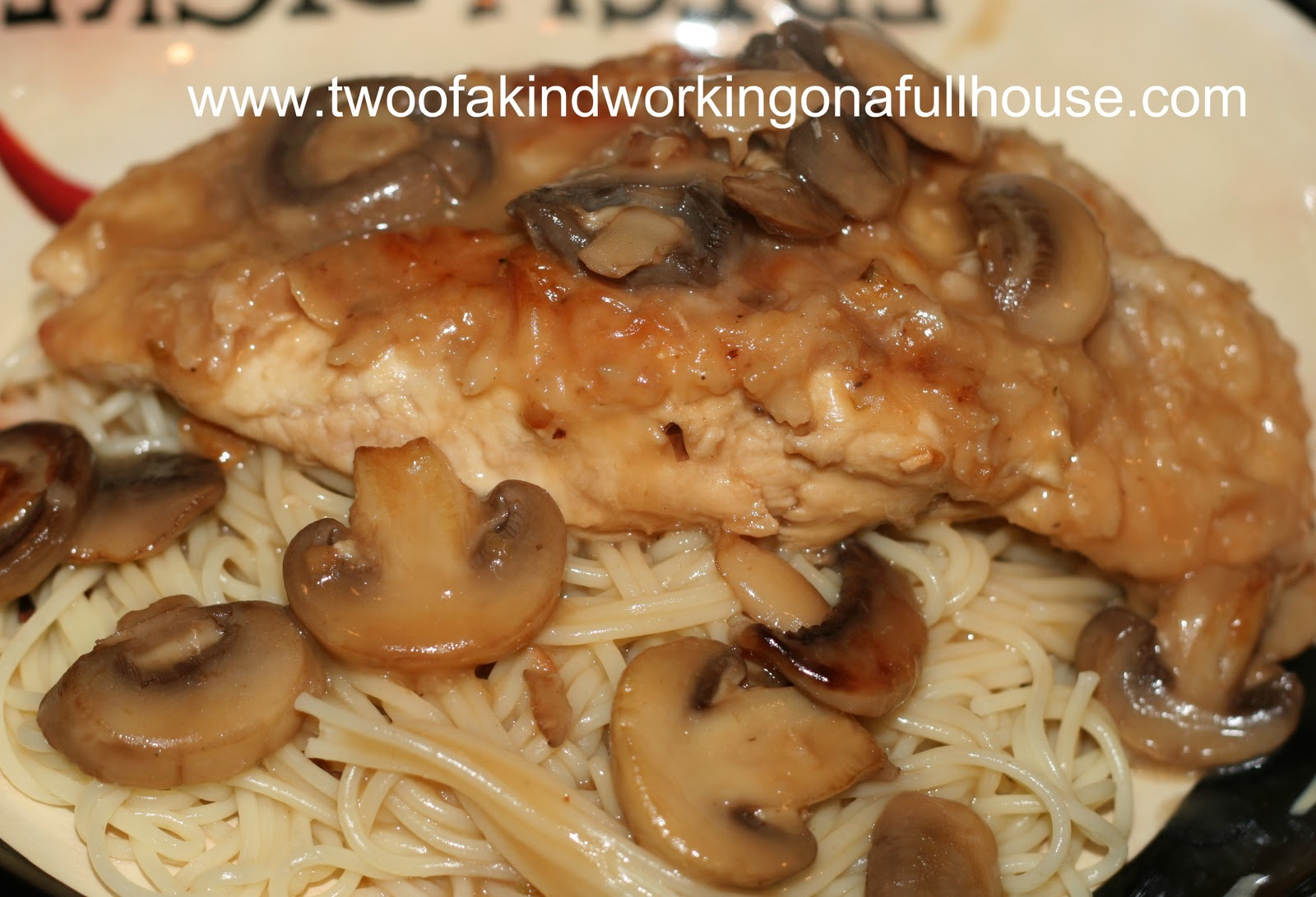 Chicken Marsala Recipe | Two of a kind, working on a full house