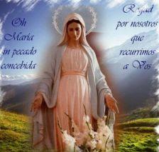 Santo Rosario (x Niños No Nacidos, Ntra. Señora de Las Lágrimas, Coronilla). Click sobre  imágen