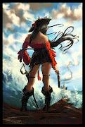 Dibujos en lápiz. 2 fantasías del personaje Cenit para seguir soñando con . cenit pirata colour by dasaod