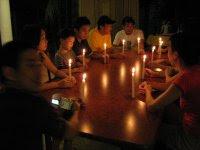 candlelight vigil in memory of Kok Yoke Yoon