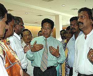 Nasir Safar: Special aide to Malaysia Prime Minister Najib Abdul Razak