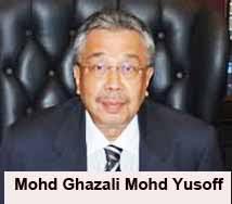 Federal Court Judge Mohd Ghazali Mohd Yusoff
