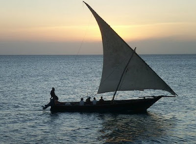 dhow tradition Arab sail boat