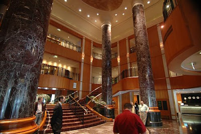 Sheraton Hotel lobby in Sydney