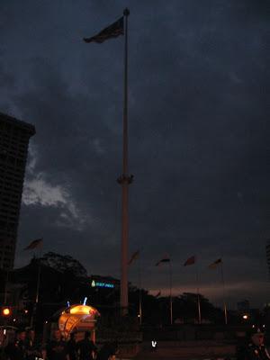tallest flagpole in the world, Dataran Merdeka, Kuala Lumpur