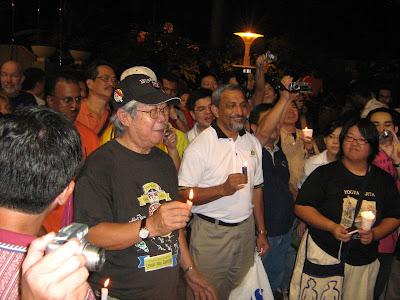 KJ John with Bernard Khoo