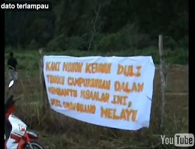 Perak Datuk Melampau Banner 3
