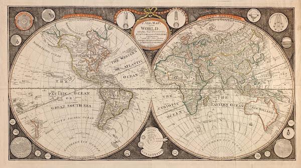 World Map, 1799