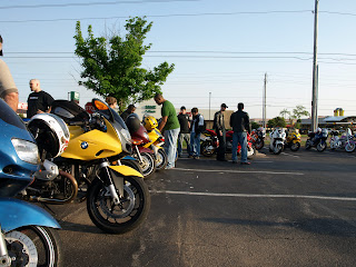 A Bike Night in South Tulsa