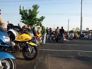 A Bike Night in South Tulsa
