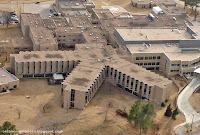 Muskogee Regional Medical Center from the air.