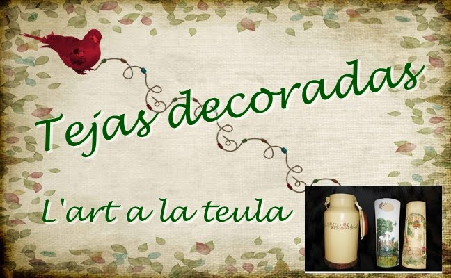 Tejas decoradas