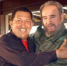 ap havana cuba hugo chavez and fidel castro are said to be in a top ...