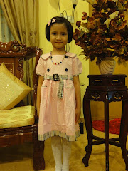 Damia with Burberry Dress