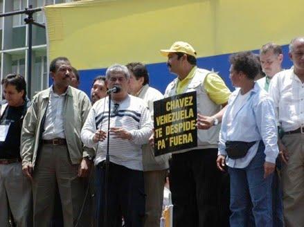Resultado de imagen para Carlos Ortega MARCHA HACIA MIRAFLORES