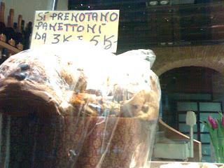 panettone, noël, rome, rome en images, italie