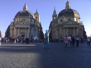 carnaval de rome, piazza del popolo, place du peuple, rome, rome en images, italie