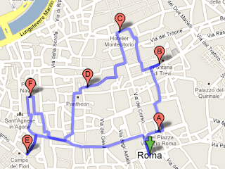 google city tours rome