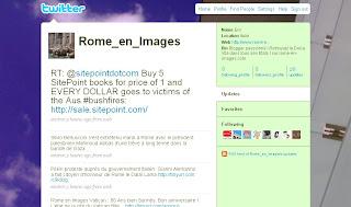 twitter rome en images, rome, italie