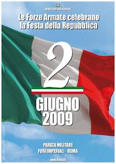 fête nationale de la république 2009, italie, rome en images