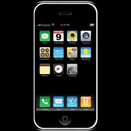iphone icône, rome en images, italie