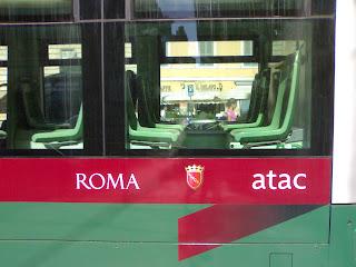 bus de plage, atac, roma, rome, italie