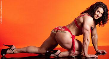 Alina Popa's heavy muscle DVD !
