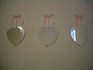 Cool Home Creations Thrifty Wall Art Mirrors Ribbon