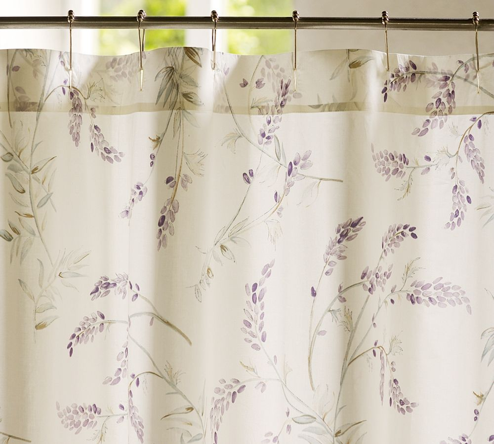Cool Home Creations: Virtual Shopping: Pottery Barn Meets ... Lavender Shower Curtains