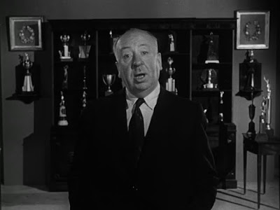 The April 6, 1958 Alfred Hitchcock Presents episode Disappearing Trick ends ...