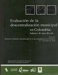 Evaluación de la Descentralización Municipal en Colombia