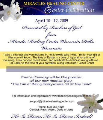 Miracles Healing Center Easter Celebration