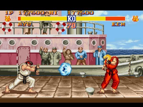street fighter ii luta a série street fighter 1991 foi