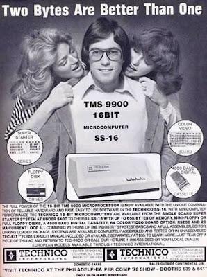 Antigos anúncios de tecnologia