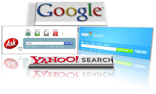yahoo search google ask msn search