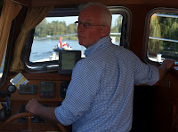 Jan at the helm