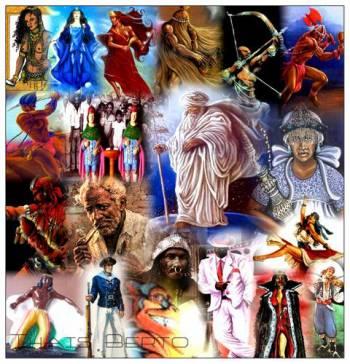 Religion umbanda quimbanda