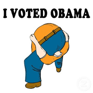 obama voter head up ass