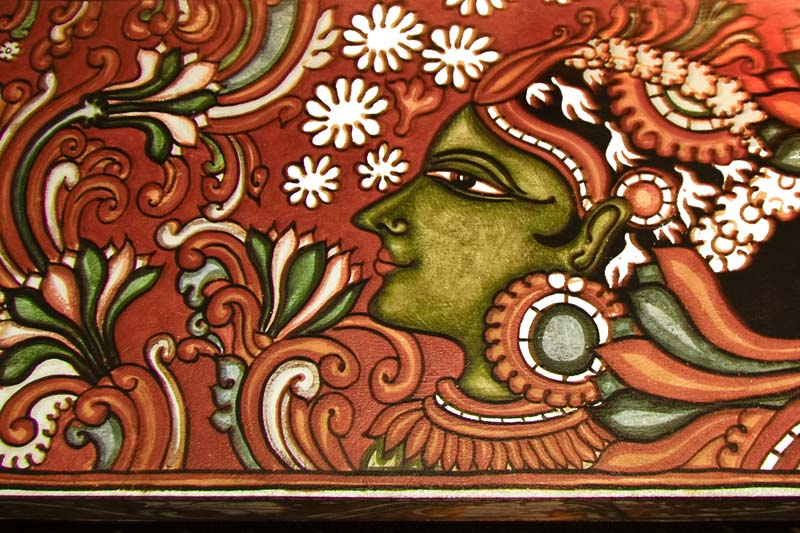 Wonders of keala mural paintings of kerala for Mural art designs