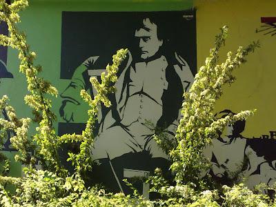 brewery, goethe, mural, napoleon