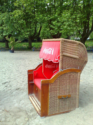 beach, beach chair, strandkorb