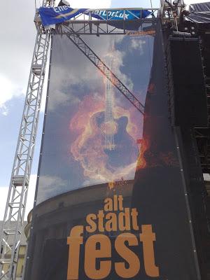 guitar, altstadt-fest