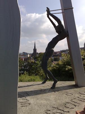 silhouette, statue